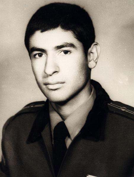 محمد رضا سرشار ـ سال 1351 ـ سپاهي دانش ـ شهر گرگان