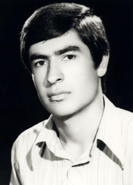 محمد رضا سرشار ـ سال 1356 ـ شهر تهران