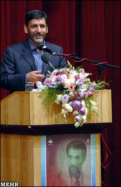 سال 1385 ـ تهران ـ نکوداشت استاد محمدرضا سرشار: حسين صفار هرندي، وزير فرهنگ و ارشاد اسلامي